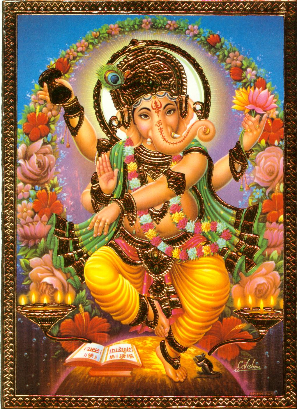 ganesh and his vahana   hindu gods and their vahanas